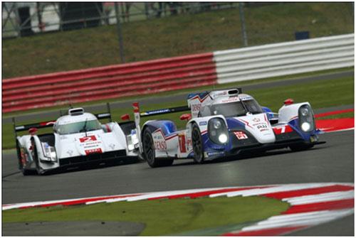 丰田油电混合双擎动力赛车ts040 hybrid 称霸世界耐力